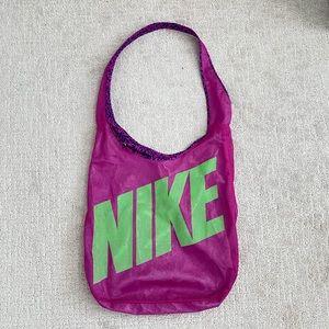 NIKE Reversible Gym Shoulder Bag